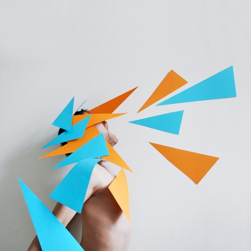 paper dragon Human being Masculine Man Adults Body 1 Art Actor Dance Dancer Clothing Hair and hairstyles Fight Communicate Scream Uniqueness Crazy Point