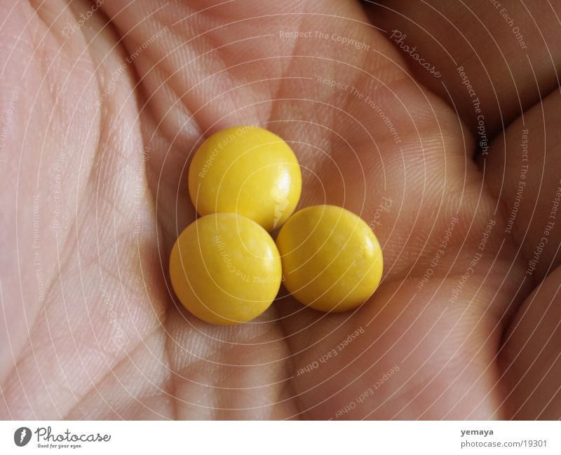 Better tablets in the hand than... Hand Pill Health care Dragee Things