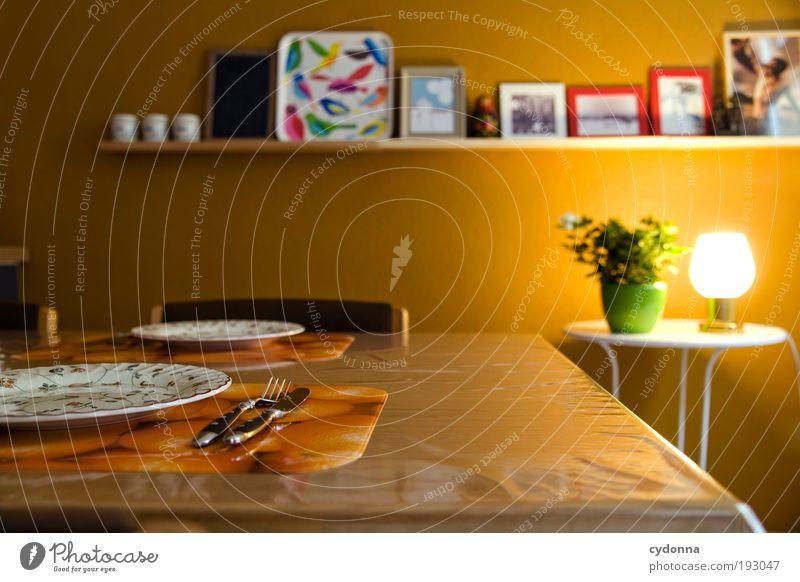 Calm Life Nutrition Style Dream Contentment Time Flat (apartment) Interior design Arrangement Design Table Decoration Lifestyle Living or residing Communicate