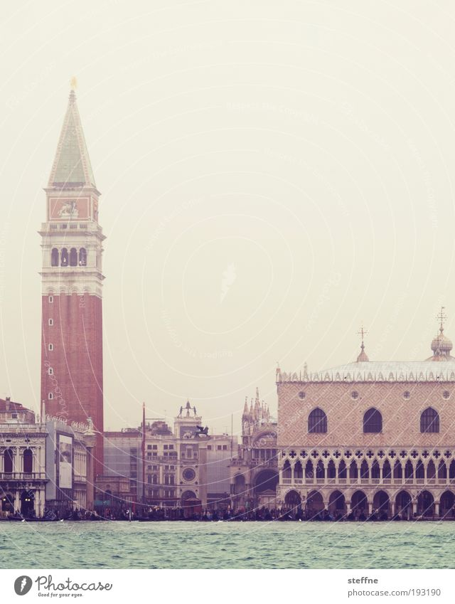 Beautiful City Facade Places Church Tower Kitsch Italy Exceptional Castle Skyline Landmark Downtown Dome Venice Famousness