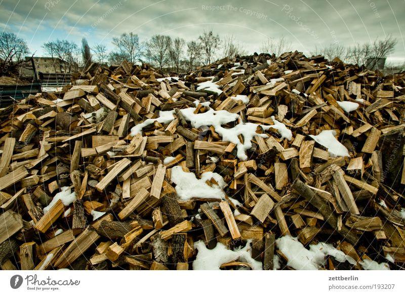 Wood Multiple Organic produce Organic farming Stack Heap Heat Firewood February Biomass Warm period