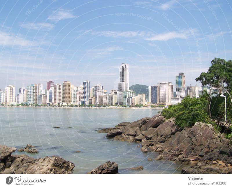 Sky Sun Ocean Blue City Summer Joy Beach Vacation & Travel Relaxation Contentment Coast Horizon Trip Tourism