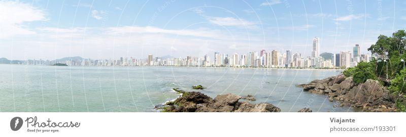 Sun Ocean Blue City Summer Joy Beach Vacation & Travel Relaxation Contentment Coast Horizon Trip Tourism Joie de vivre (Vitality)