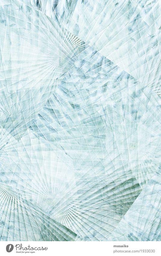 Nature Plant Blue White Lighting Emotions Lifestyle Style Moody Design Ice Elegant Illustration Graphic Concentrate Radiation
