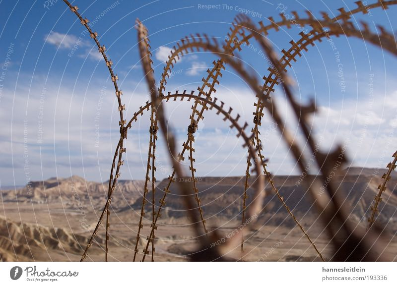 Sky Old Vacation & Travel Clouds Sand Crazy Natural Desert Infinity Protection Idyll Fence Argument Watchfulness Brash Effort