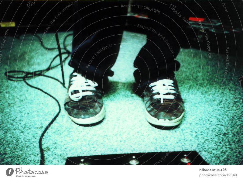 feet Sneakers Human being Feet String Music