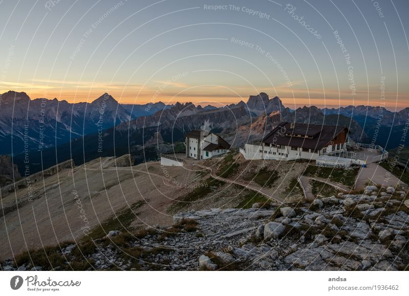Dolomites, Lagazuoi Vacation & Travel Trip Adventure Far-off places Freedom Summer vacation Sun Mountain Hiking Nature Landscape Cloudless sky Sunlight