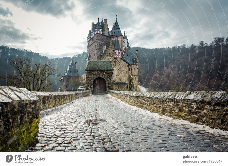 Castle Eltz Nature Landscape Winter Weather Rain Ice Frost Snow Forest Tourist Attraction Old Discover Relaxation Hiking Exceptional Creepy Historic Tall Blue