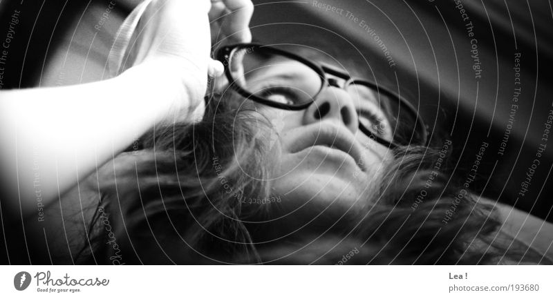 Human being Calm Life Feminine Dream Head Think Natural Curiosity Action