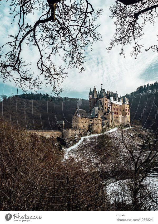 what eltz?! [2] Vacation & Travel Tourism Trip Adventure Sightseeing Winter Snow Mountain Hiking Environment Nature Landscape Sky Clouds Tree Forest Hunsrück