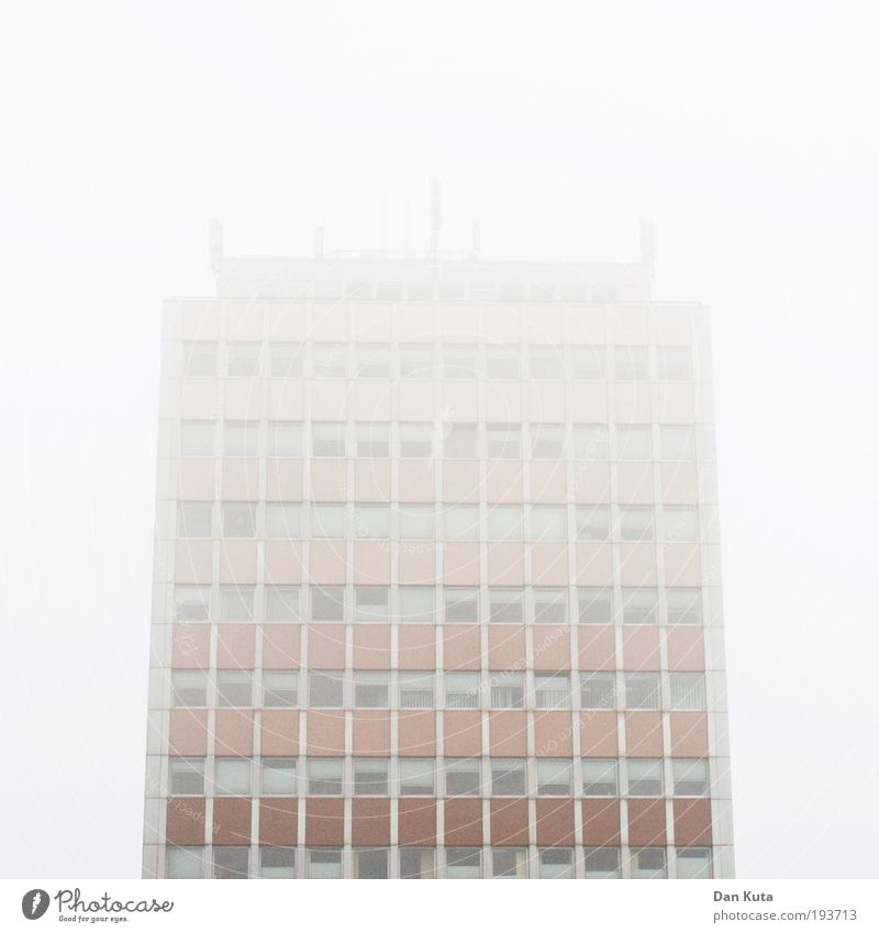 Cold Building Contentment Fog Facade Design Living or residing Manmade structures Infinity Mysterious Whimsical Hide Mystic Surprise Symmetry