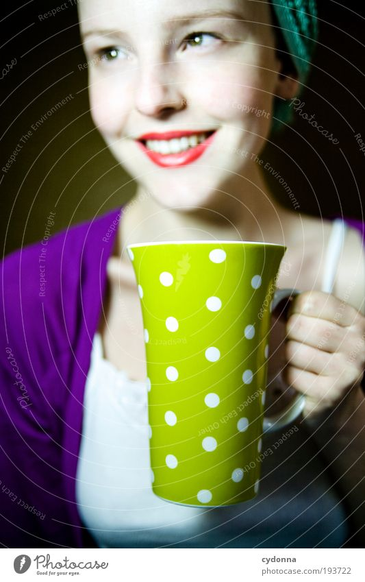 good-humoured tea Hot drink Coffee Tea Cup Lifestyle Style Design Joy Beautiful Healthy Wellness Well-being Contentment Leisure and hobbies Living or residing