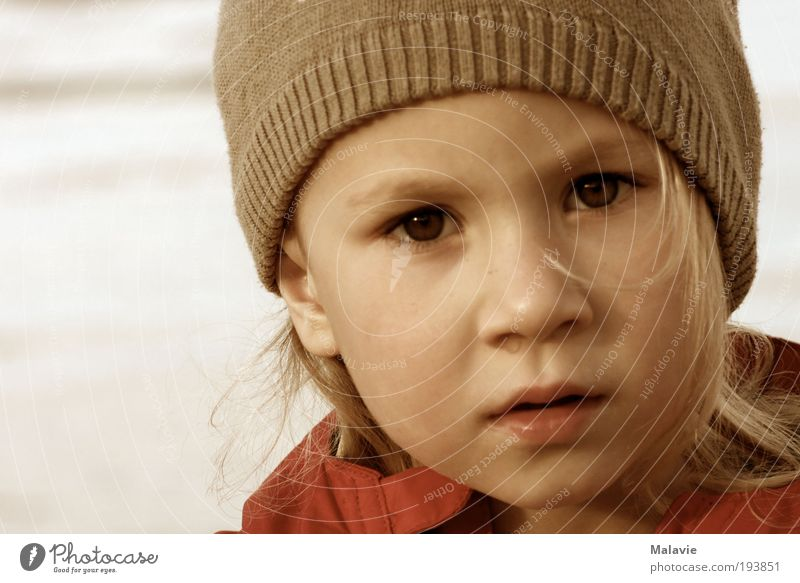 Human being Child Water Vacation & Travel Girl Beach Joy Face Far-off places Cold Freedom Think Air Dream Infancy Blonde