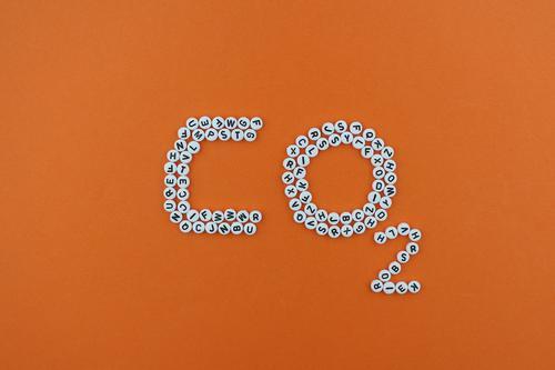 Art Orange Design 2 Esthetic Creativity Climate Letters (alphabet) Sustainability Work of art Climate change Mosaic Carbon dioxide Climate protection