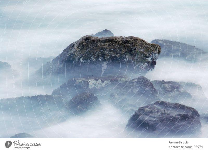 Water Ocean Summer Beach Vacation & Travel Waves Coast Fog Drops of water Island Leisure and hobbies Longing Bay Spain