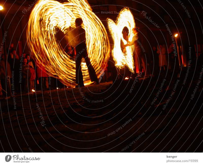 Fire I Light Burn Shows Hot Dangerous Group Blaze Dance Music Threat