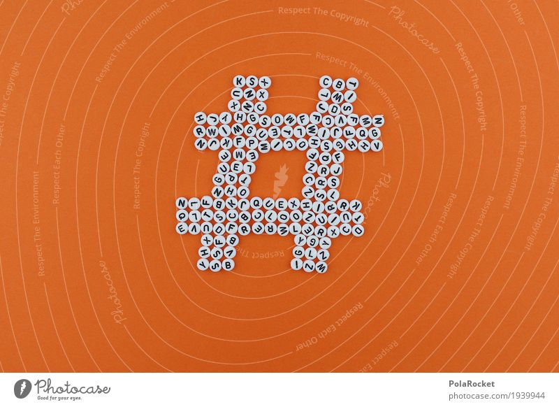 #AS# HASHTAG Art Work of art Esthetic hash day Symbols and metaphors Symbolism Characters Typography Internet Position Orange Many Letters (alphabet) Home-made