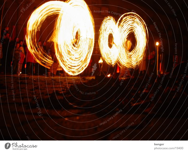 Fire II Light Burn Shows Hot Dangerous Group Blaze Dance Music Threat