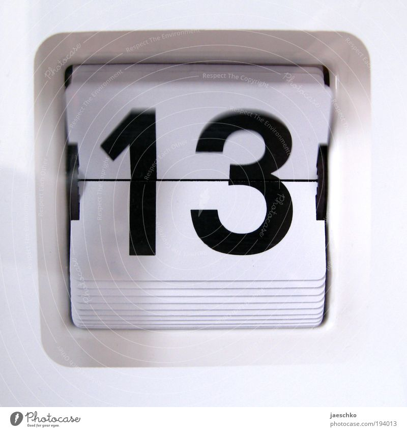 White Black Time Clock Future Change Digits and numbers Transience Symbols and metaphors Sign Calendar Analog Fear of the future Date Expectation Optimism