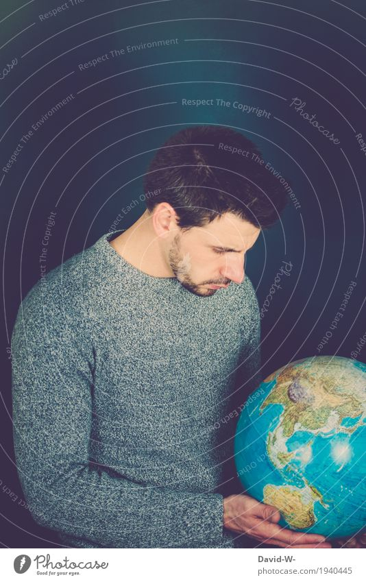 Human being Nature Vacation & Travel Youth (Young adults) Man Young man Landscape Adults Environment Life Earth Masculine Growth Culture Future Observe