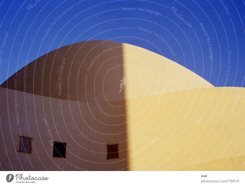 opera blue Light Architecture Sky Blue Opera Duesseldorf Shadow Detail Contrast