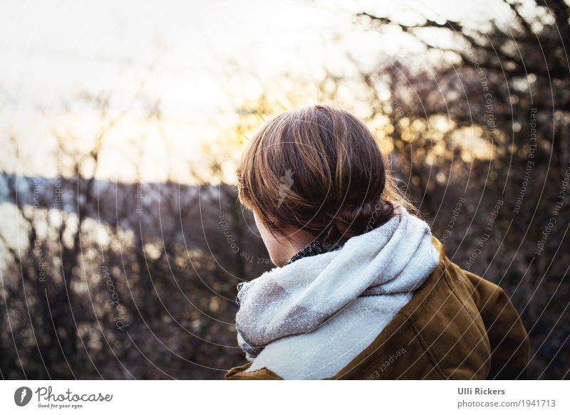 . Adventure Far-off places Feminine Young woman Youth (Young adults) 1 Human being 18 - 30 years Adults Nature Landscape Sky Sun Spring Autumn Winter