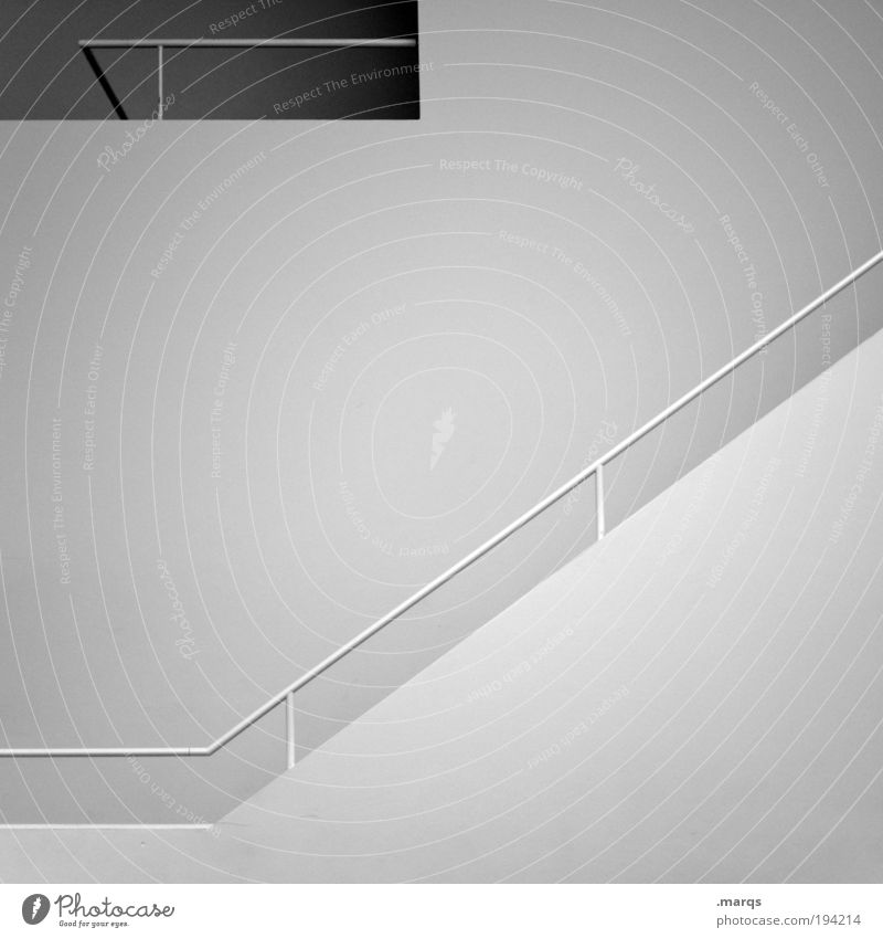 Beautiful White Wall (building) Style Wall (barrier) Bright Architecture Flat (apartment) Design Elegant Success Lifestyle Stairs Esthetic New
