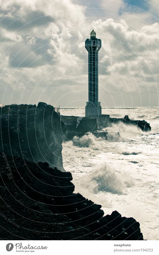 all along the watchtower Nature Landscape Elements Earth Air Water Sky Clouds Climate change Beautiful weather Bad weather Storm Gale Ocean Atlantic Ocean