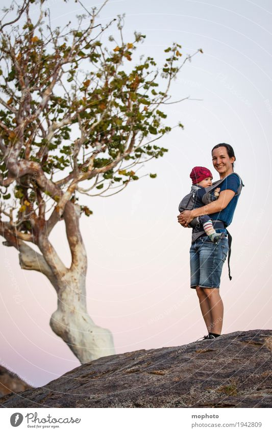 Human being Child Nature Vacation & Travel Tree Landscape Adults Life Love Lifestyle Feminine Boy (child) Family & Relations Happy Together Infancy