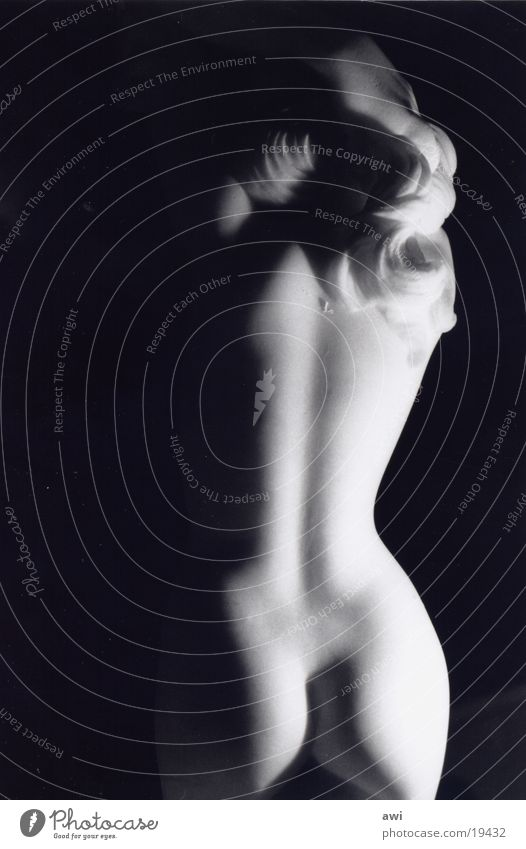 Woman Nude photography Back Hind quarters Sculpture
