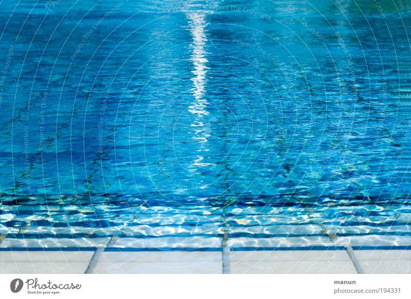 Blue Water Vacation & Travel Summer Joy Calm Relaxation Life Sports Movement Fresh Cool (slang) Swimming pool Wellness To enjoy Joie de vivre (Vitality)