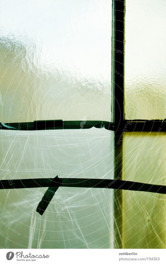 Window Glass Transparent Window pane Painter Slice Dreary Covers (Construction) Pane Packing film Adhesive tape Frosted glass Glazier