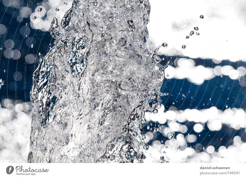 Nature Water Blue Gray Environment Drops of water Esthetic Fluid Bizarre