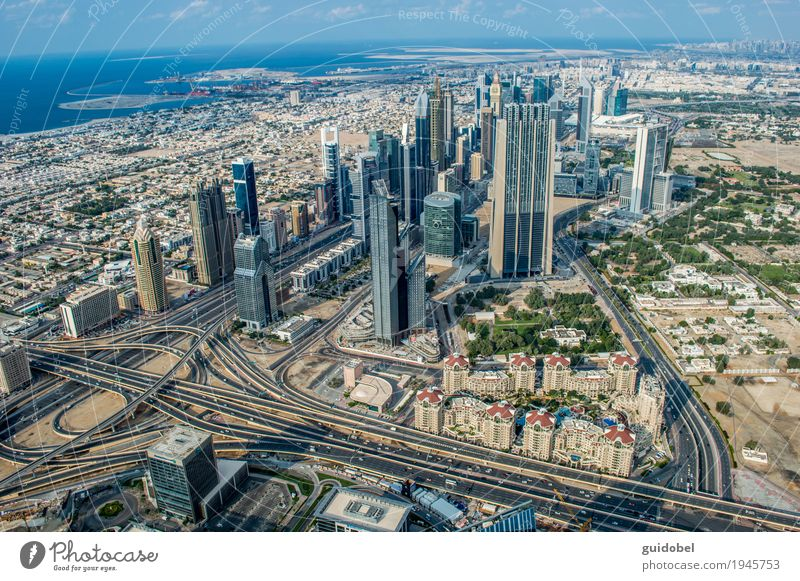 Abu Dhabi United Arab Emirates Asia Populated Deserted House (Residential Structure) Bank building Building Palace High-rise Road traffic Street Traffic circle