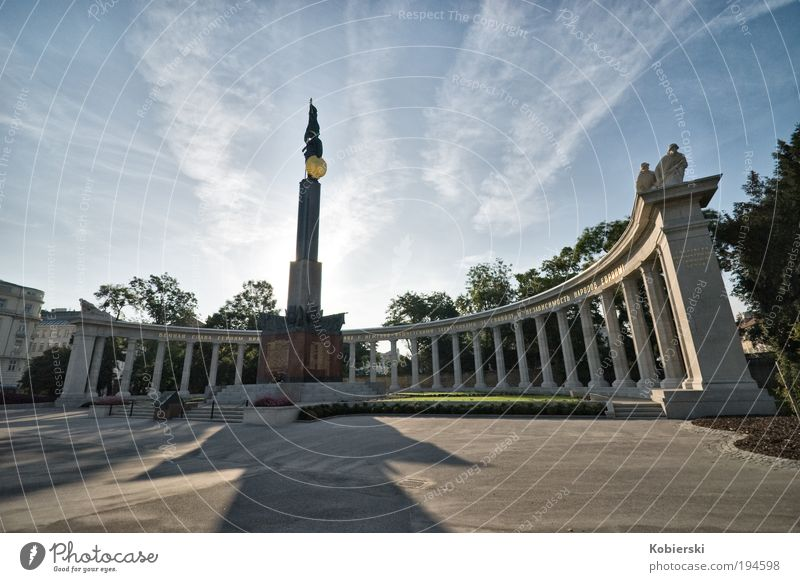 Freedom Architecture Park Places Europe Peace Past Monument War Landmark Sculpture Austria Sightseeing Tourist Attraction Capital city