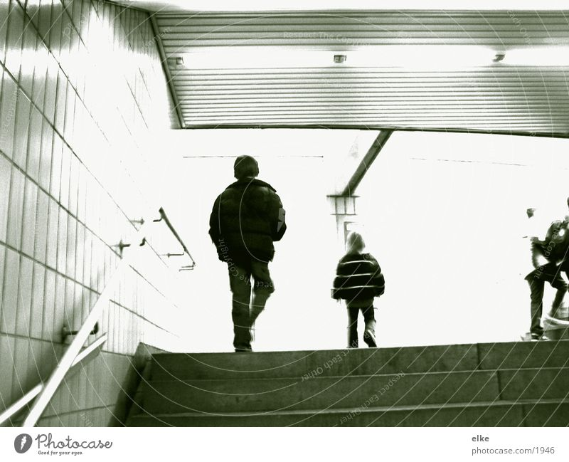 rapidly high Child Duplex Human being Stairs Walking