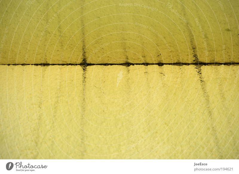 Yellow Style Line Dirty Design Corner Edge