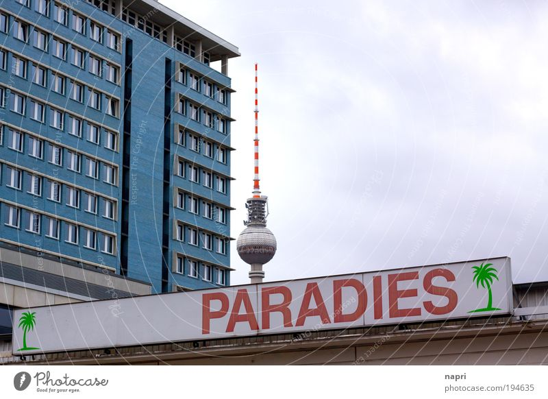 Who does not know the sky... Berlin Berlin TV Tower Downtown Berlin alex Germany Deserted House (Residential Structure) High-rise Building Architecture