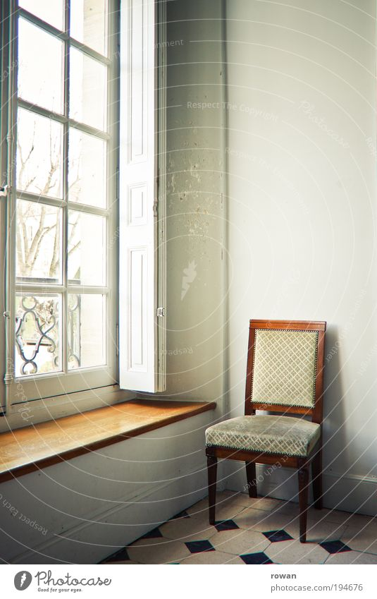 Old Blue Calm House (Residential Structure) Relaxation Wall (building) Window Wall (barrier) Building Warmth Bright Brown Architecture Vantage point Chair