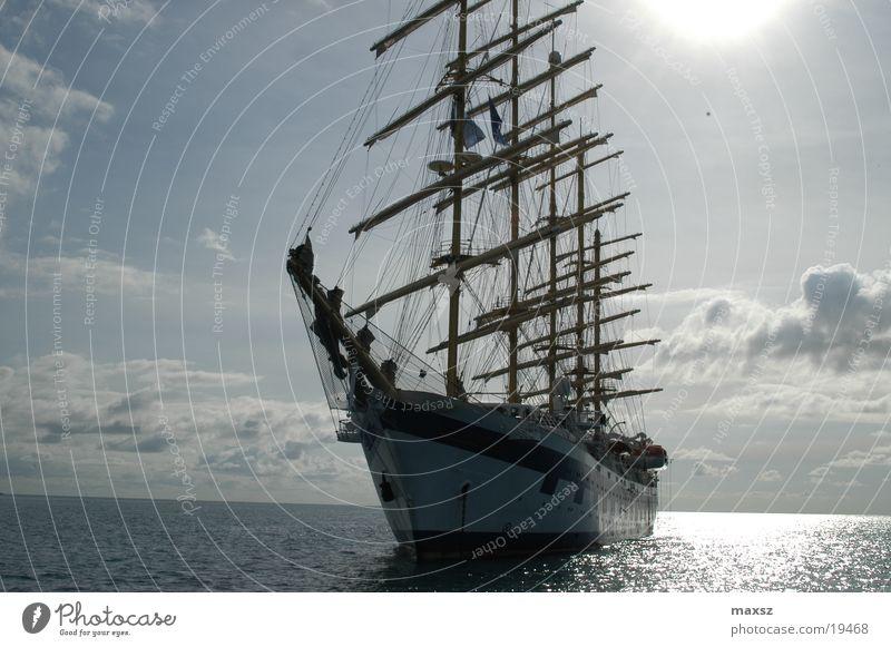 Sky Blue Water Beautiful Sun Ocean Summer Clouds Warmth Wood Dream Watercraft Physics Sailing Electricity pylon Cuba