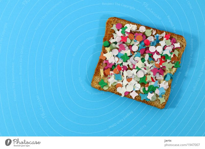 Eating Food Party Crazy Breakfast Event Bread Confetti Toast
