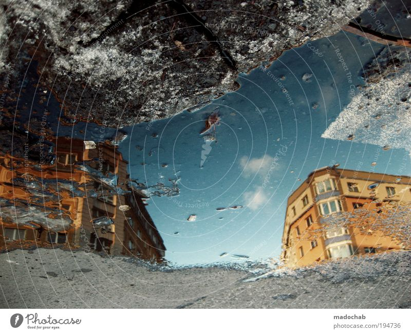 Sky Water City Winter House (Residential Structure) Environment Street Emotions Berlin Architecture Building Facade Climate Transport Living or residing Asphalt