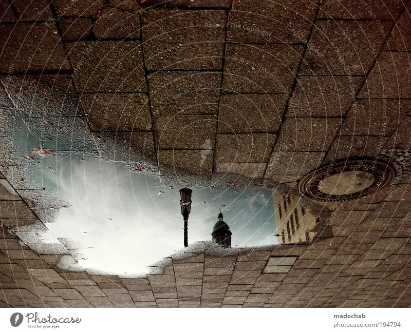 City Street Berlin Window Dream Stone Lanes & trails Environment Horizon Future Ground Longing Square Reflection Hollow Whimsical