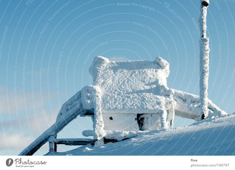 Nature White Winter Vacation & Travel House (Residential Structure) Far-off places Cold Snow Mountain Freedom Ice Environment Trip Frozen Freeze