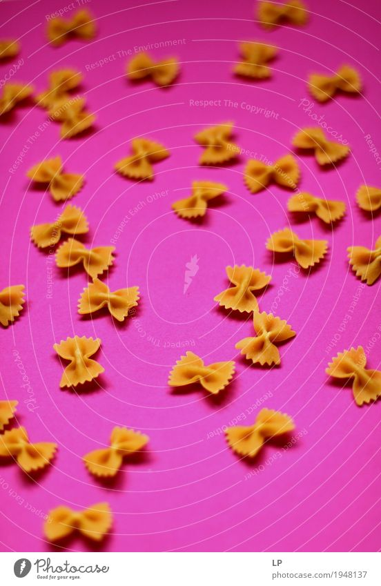 pasta bows Lifestyle Food Design Pink Leisure and hobbies Nutrition Creativity Illustration Curiosity Cooking Team Gastronomy Organic produce Tradition