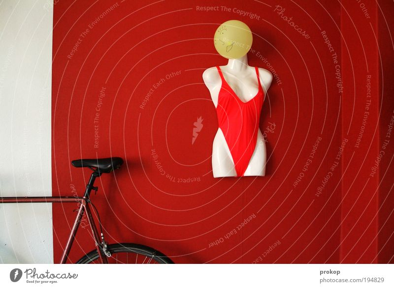 Human being Red Room Flat (apartment) Bicycle Design Living or residing Safety Balloon Protection Wallpaper Athletic Bikini Living room Watchfulness Figure