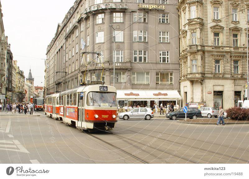 streetcar Prague Tram