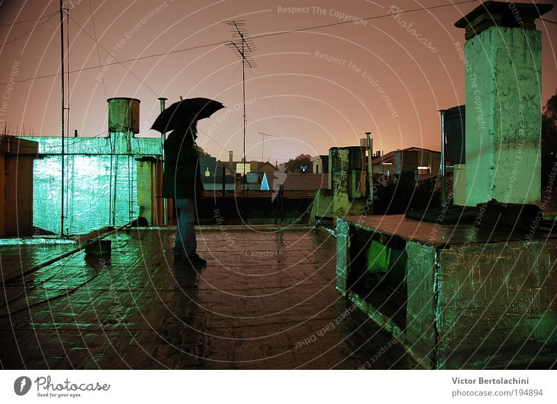 Masculine Elements Water Night sky Gale Looking Colour photo Interior shot