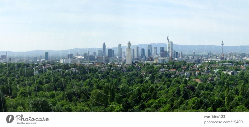 Large Europe Frankfurt Panorama (Format)