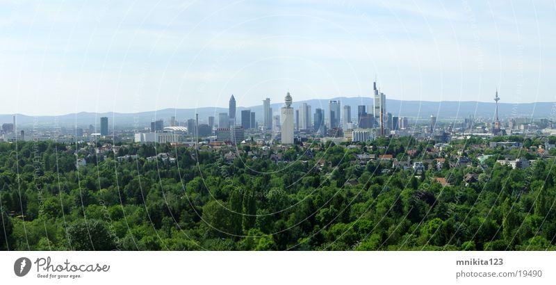 Large Europe Frankfurt Panorama (Format)